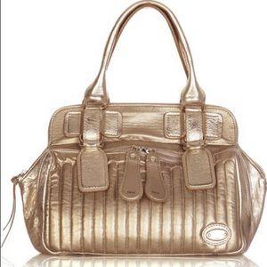 Metallic Chloe Bay Bag
